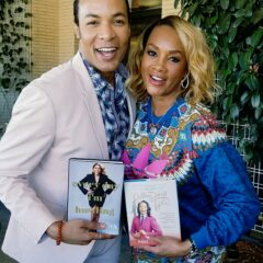 Vivica Fox and Paul Wharton celebrate their books in Beverly Hills